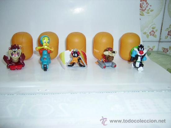 Figuras Kinder: COLECCION COMPLETA DE LOS LOONEY TUNES HUEVOS KINDER EDICION 2011/2012 - Foto 2 - 30944247