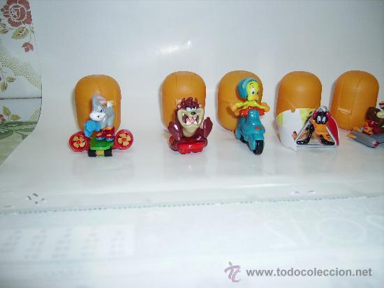 Figuras Kinder: COLECCION COMPLETA DE LOS LOONEY TUNES HUEVOS KINDER EDICION 2011/2012 - Foto 3 - 30944247