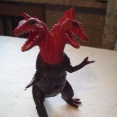 Figuras de Goma y PVC: DRAGON DOBLE CABEZA, 21 CMS DE ALTO. Lote 31382777