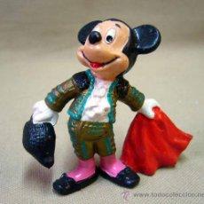 Figuras de Goma y PVC: FIGURA PVC, MICKEY MOUSE, BULLYLAND, 7 CM, TORERO. Lote 32067909