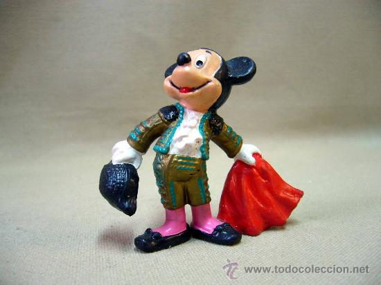 Figuras de Goma y PVC: FIGURA PVC, MICKEY MOUSE, BULLYLAND, 7 CM, TORERO - Foto 4 - 32067909