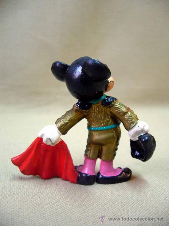 Figuras de Goma y PVC: FIGURA PVC, MICKEY MOUSE, BULLYLAND, 7 CM, TORERO - Foto 2 - 32067909
