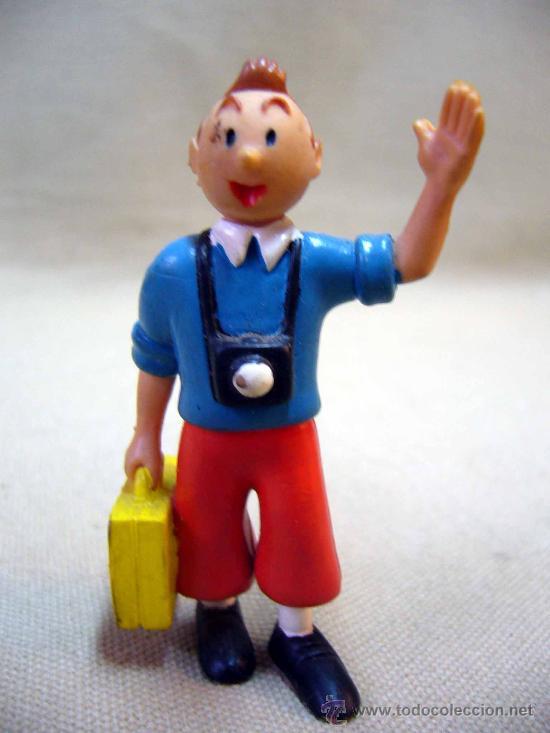 Figuras de Goma y PVC: LOTE DE 5 FIGURAS DE PVC, SERIE TIN TIN, DE HERGE, FABRICADOS POR COMIC SPAIN, 1984-86 - Foto 2 - 31870439