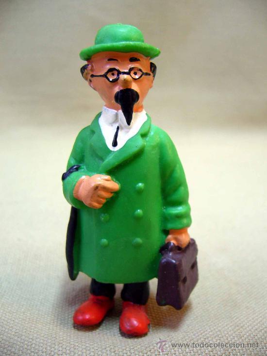 Figuras de Goma y PVC: LOTE DE 5 FIGURAS DE PVC, SERIE TIN TIN, DE HERGE, FABRICADOS POR COMIC SPAIN, 1984-86 - Foto 4 - 31870439