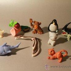 Figuras Kinder: LOTE FIGURITAS ANIMALES KINDER SORPRESA O SIMILAR. Lote 31980422