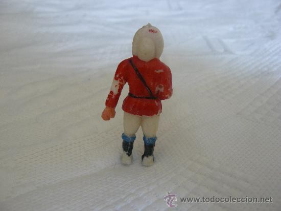 Figuras de Goma y PVC: ESQUIMAL DE LA SERIE DE ESQUIMALES AÑOS 50 DE MANUEL SOTORRES - Foto 2 - 31942475