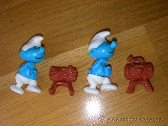 LOTE DE PITUFO HUEVOS KINDER (Juguetes - Figuras de Gomas y Pvc - Kinder)