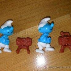 Figuras Kinder: LOTE DE PITUFO HUEVOS KINDER. Lote 32034382
