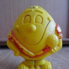 Figuras de Goma y PVC: MUÑECO HUCHA DE LIMONCITO MUNDIAL 82 SIMILAR A NARANJITO MUY RARO .. Lote 32056834