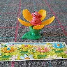 Figuras Kinder: RATÓN DENTRO DE FLOR DE HUEVO KINDER. Lote 32120488