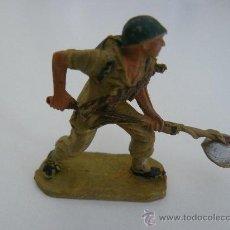 Figuras de Goma y PVC: SOLDADO AMERICANO (MARINE) PLASTICO MARCA PECH HERMANOS SERIE AMERICANOS EN COMBATE. Lote 32361001