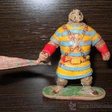 Figuras de Goma y PVC: ESTEREOPLAST JIN : FIGURA DE GOLIAT EN GOMA AÑOS 50 COMPLETA Y EN BUEN ESTADO ¡¡¡. Lote 33363284