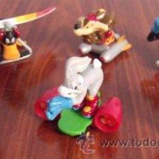 Figuras Kinder: COLECCIÓN COMPLETA LOONEY TUNES ACTIVE! - FIGURAS PVC KINDER SORPRESA. Lote 32496056