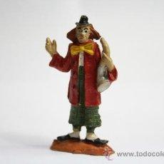 Figuras de Goma y PVC: FIGURA DE PLÁSTICO, PAYASO MÚSICO DEL CIRCO JECSAN. Lote 32639953