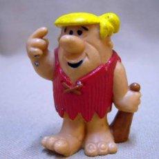 Figuras de Goma y PVC: FIGURA DE PVC, PABLO, LOS PICAPIEDRA, HANNA BARBERS, 1983, BULLY. Lote 32699227