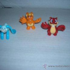 Figuras Kinder: TRES FIGURAS KINDER: DE140 MPG - DE142 MPG - S5 1D.. Lote 32722755