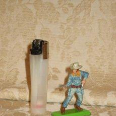 Figuras de Goma y PVC: VAQUERO MARCA DEETAIL. Lote 32788615