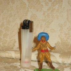 Figuras de Goma y PVC: VAQUERO MARCA DEETAIL. Lote 32788617
