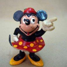 Figuras de Goma y PVC: RARA FIGURA DE PVC, FABRICADA POR COMICS SPAIN, MINNIE, NOVIA DE MICKEY, DISNEY, ESPAÑA. Lote 32855554