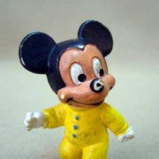Figuras de Goma y PVC: FIGURA DE PVC, FABRICADA POR BULLY, BABY MICKEY, PERSONAJE MICKEY, ALEMANIA, 1985. Lote 32856955
