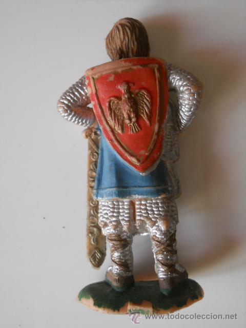Figuras de Goma y PVC: REAMSA : MEDIEVAL , RICARDO CORAZON DE LEON/ PRINCIPE VALIENTE FIGURA Nº 181 AÑOS 60 ORIGINAL 100% - Foto 2 - 32886178