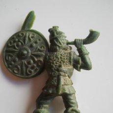 Figuras de Goma y PVC: PIPERO : CORNETA VIKINGO REG MONOCOLOR AÑOS 60 ORIGINAL 100% . Lote 32969284