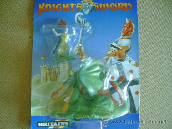 FIGURAS EN BLISTER SERIE KNIGHTS OF THE SWORD (Juguetes - Figuras de Goma y Pvc - Britains)