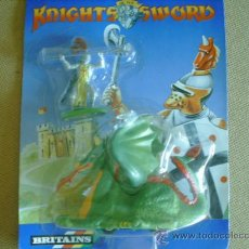 Figuras de Goma y PVC: FIGURAS EN BLISTER SERIE KNIGHTS OF THE SWORD. Lote 32987724
