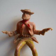 Figuras de Goma y PVC: PIPERO REG :VAQUERO DE PIPERO LAFREDO ORIGINAL AÑOS 60 . Lote 33009270