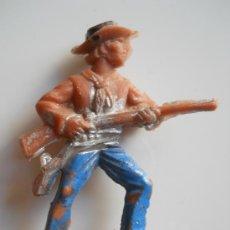 Figuras de Goma y PVC: PIPERO REG :VAQUERO DE PIPERO LAFREDO ORIGINAL AÑOS 60 . Lote 33009359