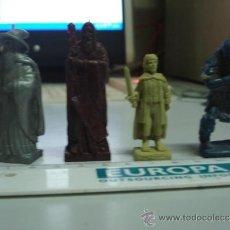 Figuras de Goma y PVC: LOTE FIGURAS EL SEÑOR DE LOS ANILLOS, MUÑECOS DUNKIN. Lote 33134419