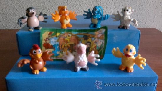 FIGURAS KINDER SORPRESA LOTE ABRAZOTES. (Juguetes - Figuras de Gomas y Pvc - Kinder)