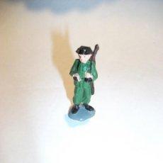 Figuras de Goma y PVC: FIGURA DE GUARDIA CIVIL, CREO QUE ES DE PECH, 40 MM. ALTO, EN VITRINA. Lote 33276955