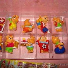 Figuras Kinder: ANTIGUA COLECCIÓN COMPLETA DE CERDITOS PINKY PIGGYS DE KINDER DE FERRERO . AÑO 2000. Lote 33323887