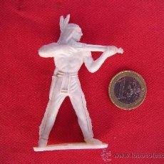 Figuras de Goma y PVC: INDIO BLANCO, COMANSI. Lote 276426143