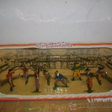 Figuras de Goma y PVC: CAJA ORIGINAL VAQUEROS OLIVER , PECH - VAQUEROS OLIVER - FIGURAS DE PECH. Lote 33447280
