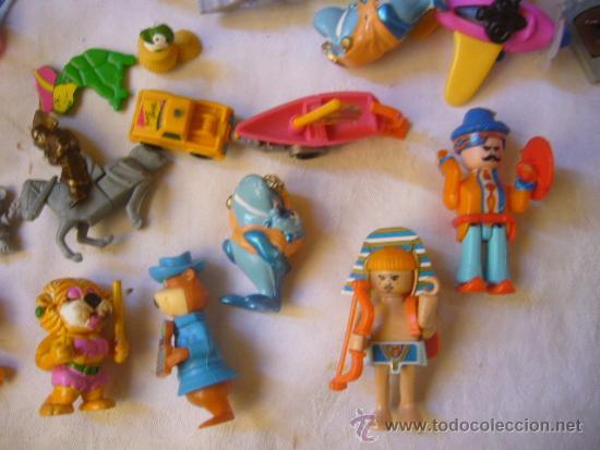 Figuras Kinder: lote antiguas figuras huevos sorpresa kinder - Foto 2 - 33478210