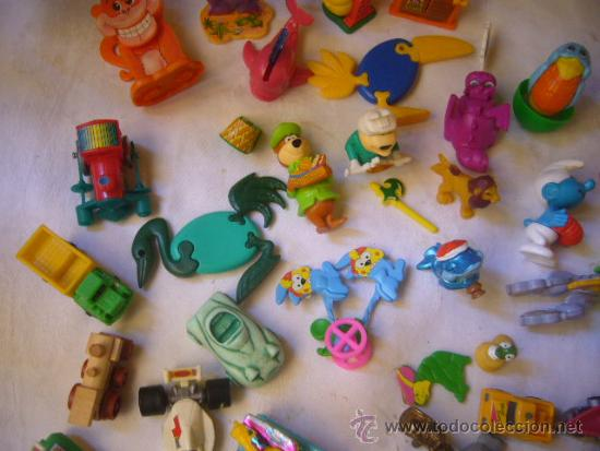 Figuras Kinder: lote antiguas figuras huevos sorpresa kinder - Foto 4 - 33478210