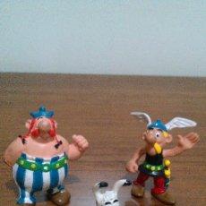 Figuras de Goma y PVC: ASTERIX Y OBELIX - FIGURAS DE PVC - UDERZO - COMICS SPAIN. GRUPO CON IDEFIX. COMPLETO NUEVO. Lote 33480963