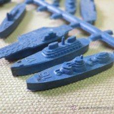 Figuras de Goma y PVC: COLADA BARCOS MILITARES, MONTAPLEX. Lote 33508507