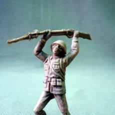 Figuras de Goma y PVC: FIGURA DE PLASTICO, PIPERO, FUSILADO DE JECSAN, SOLDADO JAPONES. Lote 33514459