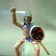 Figuras de Goma y PVC: FIGURA DE PLASTICO, MEDIEVAL, FABRICADO POR REAMSA, 1970S. Lote 33520783