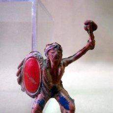 Figuras de Goma y PVC: FIGURA DE GOMA, INDIO, 4,5 CM, FABRICADO POR LAFREDO, 1950S. Lote 33521053