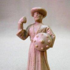 Figuras de Goma y PVC: FIGURA PLASTICO, FUSILADA DE REAMSA, MEDIEVAL, PARA PINTAR. Lote 33640259