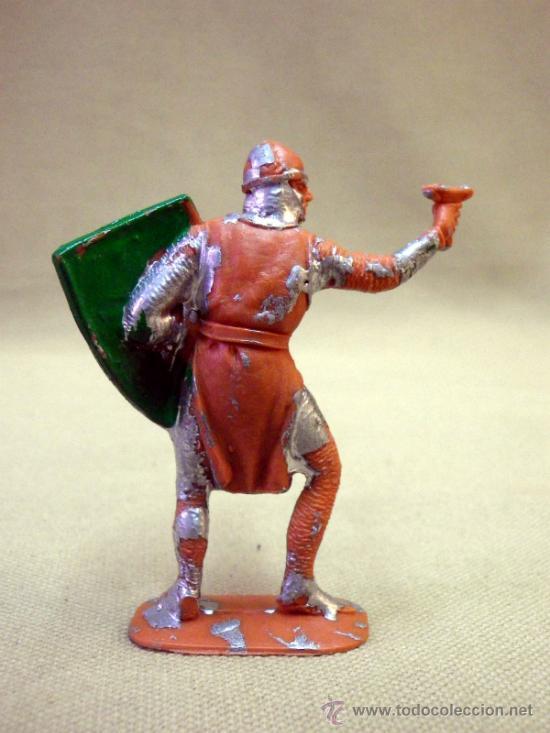 Figuras de Goma y PVC: FIGURA DE PLASTICO, SOLDADO MEDIEVAL, FABRICADO POR JECSAN, 1970s - Foto 2 - 33520590