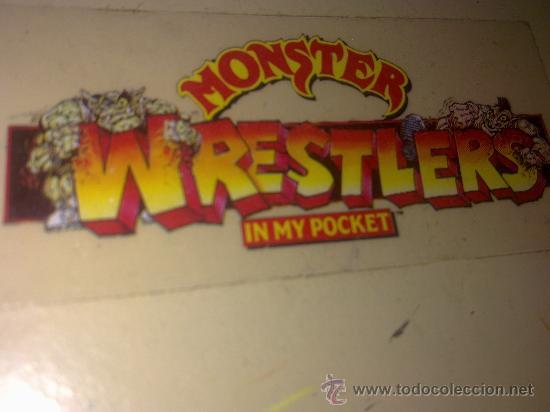 Figuras de Goma y PVC: RING LUCHA MONSTER IN MY POCKET WWF.MATTEL AÑOS 80. IMPOSIBLE DE CONSEGUIR YA.ERA HEMAN Y GI JOE. - Foto 12 - 34152164