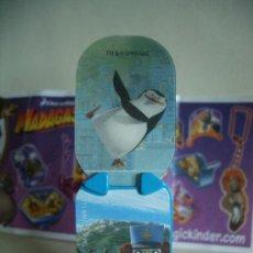 Figuras Kinder: FIGURA HUEVOS KINDER - MADAGASCAR 3. Lote 33580914