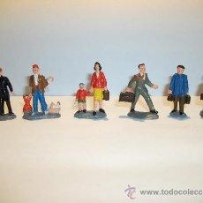 Figuras de Goma y PVC: CONJUNTO DE SEIS FIGURAS DE GOMA, FABRICADAS POR PECH, AÑOS 50-60.. Lote 33641837