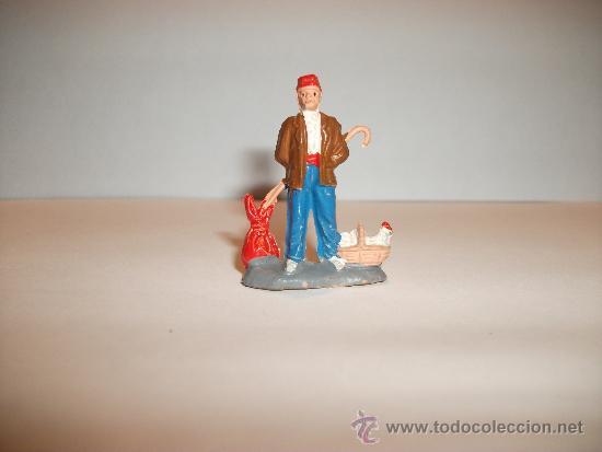Figuras de Goma y PVC: CONJUNTO DE SEIS FIGURAS DE GOMA, FABRICADAS POR PECH, AÑOS 50-60. - Foto 6 - 33641837