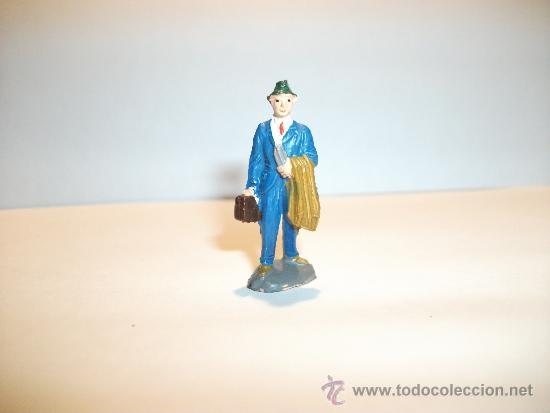 Figuras de Goma y PVC: CONJUNTO DE SEIS FIGURAS DE GOMA, FABRICADAS POR PECH, AÑOS 50-60. - Foto 8 - 33641837